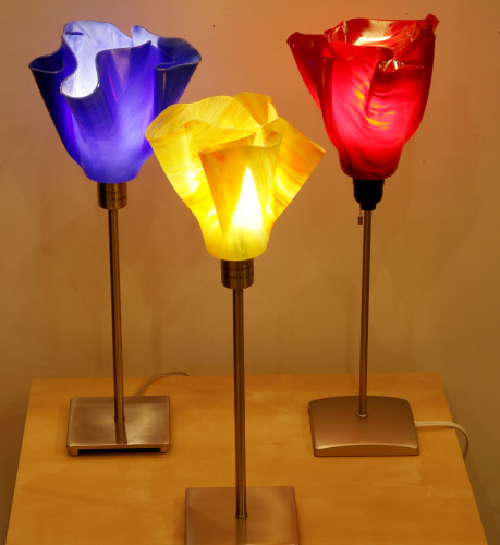 BSK Design Fused Glass Lighting